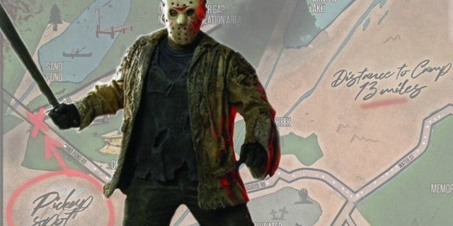Friday the 13th Map