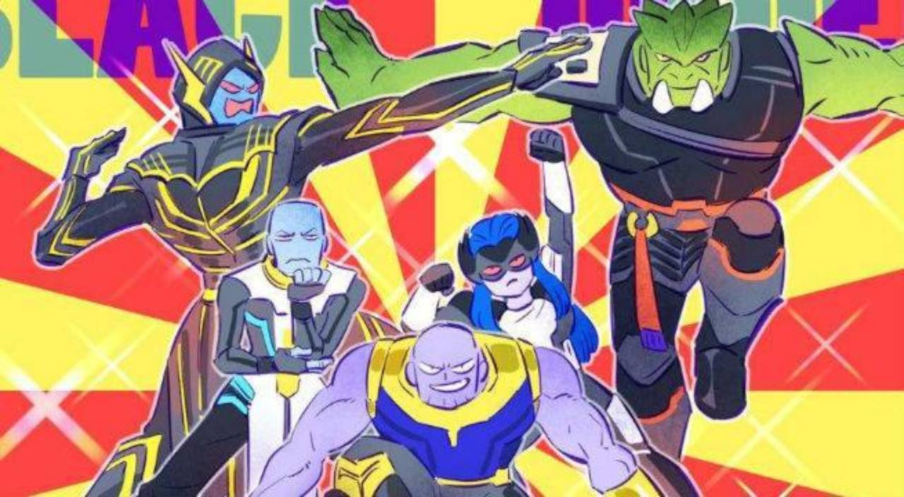 Thanos Leads The Ginyu Force In Hilarious Avengers And Dragon