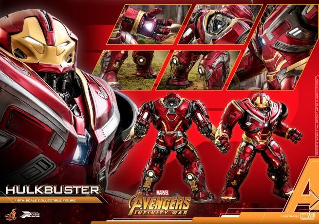 Hot Toys - AIW - Hulkbuster power pose collectible figure_PR18