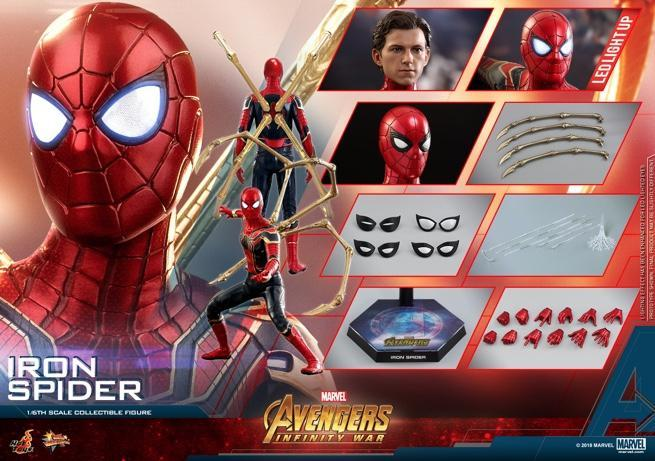 Hot Toys - AIW - Iron Spider collectible figure_PR25