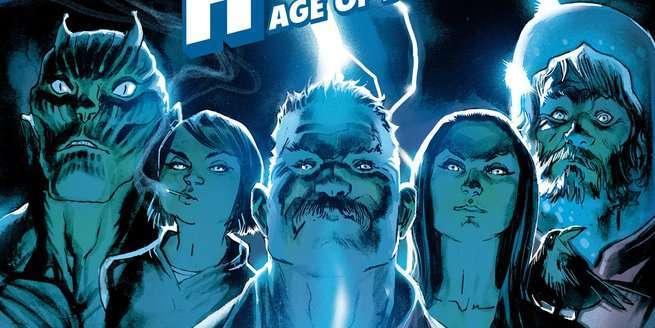 Jeff Lemire Black Hammer Universe - Cover