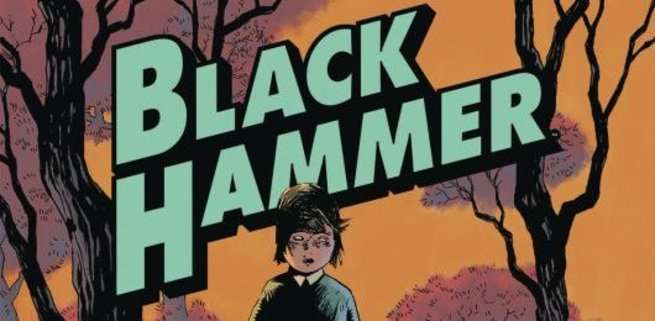 Jeff Lemire Black Hammer Universe - Creation