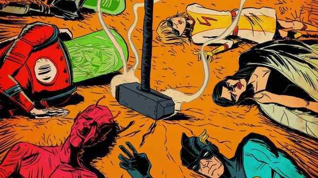 Jeff Lemire Black Hammer Universe - Origin