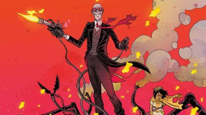 Jeff Lemire Black Hammer Universe - Sherlock Frankenstein