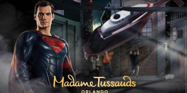 Justice-League-Madame-Tussauds-Superman