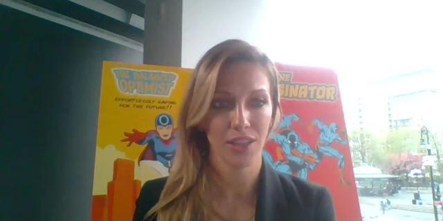 Katie Cassidy Talks 'Arrow' screen capture