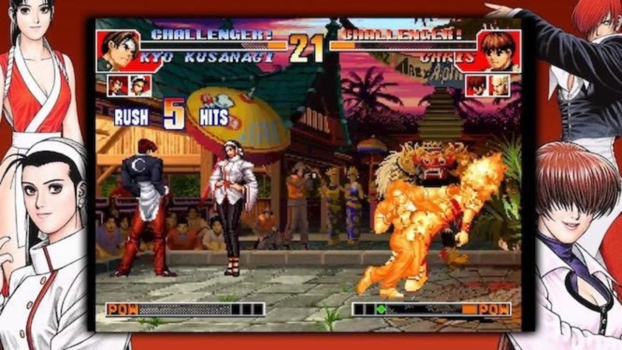 The King Of Fighters 97 Global Match Arrives On Playstation 4