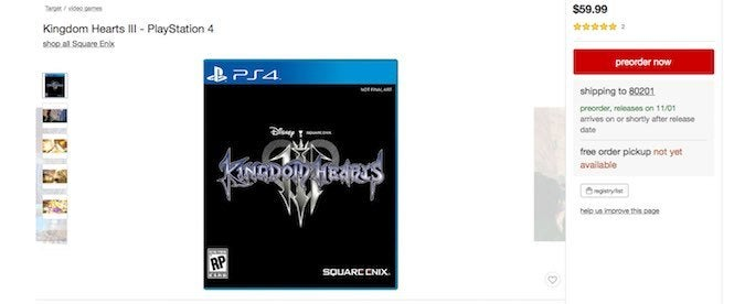 Kingdom Hearts 3 2