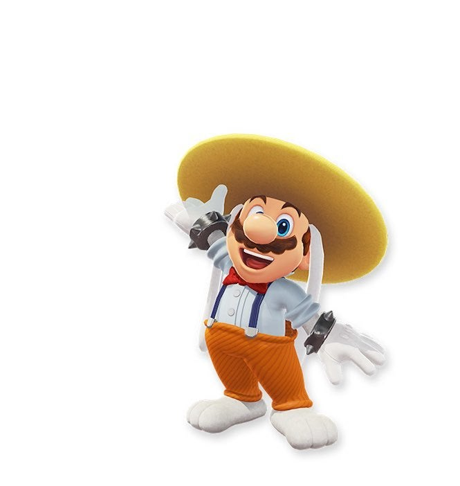 "Mario Odyssey 5 ""title ="" Mario Odyssey 5 ""Height ="" 702 ""width ="" 665 ""daten-item ="" 1105703 ""/ > </figure> <p>  This looks like another bad rabbit costume, with the wide hat and the interesting mix of suspenders, bow tie and orange pants and the rabbit slippers! </p><div><script async src="