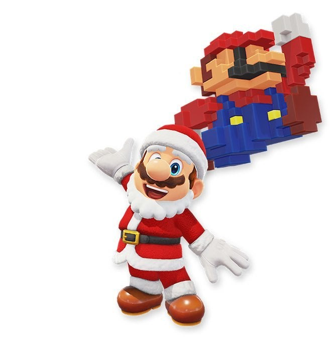 "Mario Odyssey 7 ""title ="" Mario Odyssey 7 ""Height ="" 702 ""width ="" 665 ""daten-item ="" 1105705 ""/> </figure> <p>  It may be April at last, but Christmas is not too early So Santa Mario comes to give good gifts to boys and girls, and you'll see a big 8-bit Mario. We're not sure if this is another costume or just Santa Mario's sack, but we'll find out soon . </p> <p>  Now Nintendo has not said a word about any of these costumes, so these could be just Be fantastic artist depictions, so take them with a grain of salt and Zombie Mario can scare some kids, even though it's not bloody or, fortunately, But we'll be glad to see all of these. Come on in the last game, so fingers crossed! </p> <p>  <i> Super Mario Odyssey </i> is now available for Nintendo Switch. </p> <p><svg role="