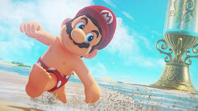 "Mario Odyssey Title ""title ="" Mario Odyssey Title ""height ="" 374 ""width ="" 665 ""Data Element ="" 1105698 ""/> </figure> <p><i>  Super Mario Odyssey </i> is still one of the most entertaining games we have have been playing on the Nintendo Switch lately, and Nintendo is having fun by adding a number of new costumes to the mix, along with the <i> Luigi's Balloon World </i> expansion, but, according to some sly Dataminer, perhaps We get a new round of costumes, which are the best we've seen so far in the game. </p> <p>  A Twitter user named <a href="
