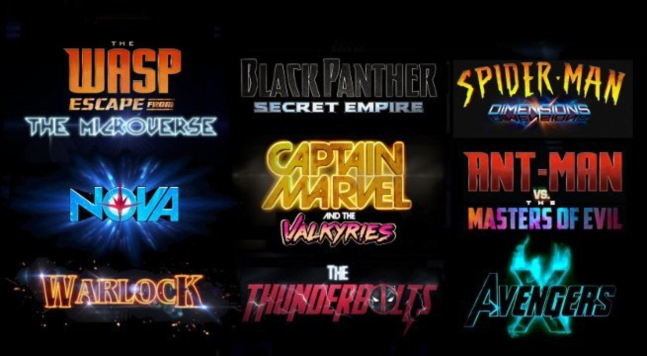 This Marvel Phase 4 Movies Slate Is What Fans Dreams Are Made Of