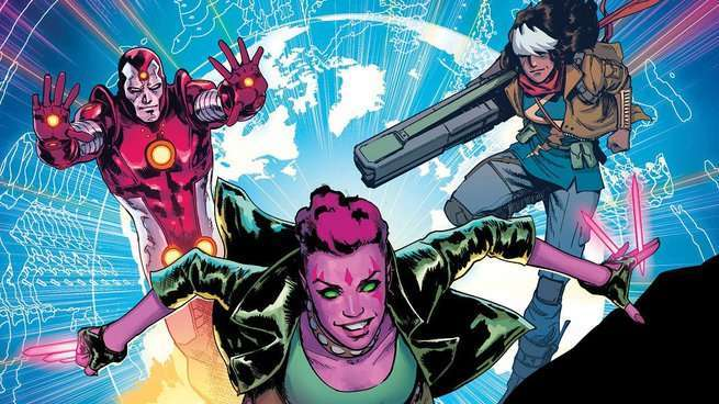 Marvel Comics The Exiles - Cover
