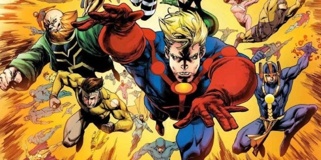 Marvel Promotes The Eternals Ahead Of Comic-Con