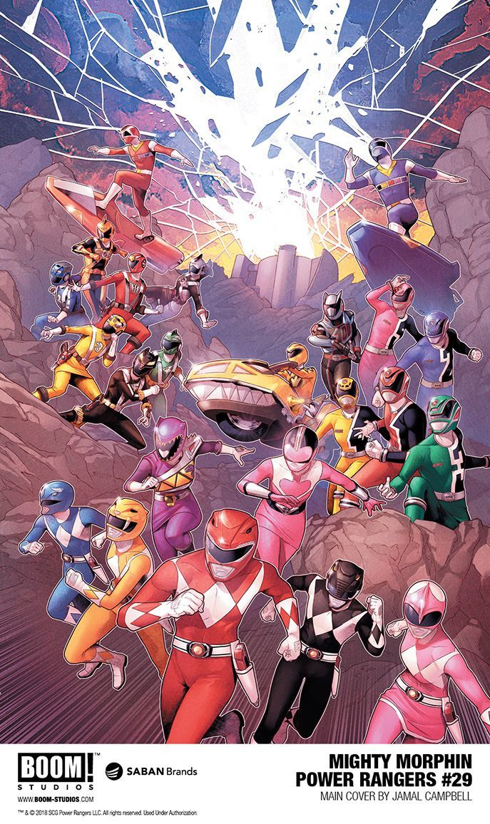 Exclusive Mighty Morphin Power Rangers 29 Preview Features In
