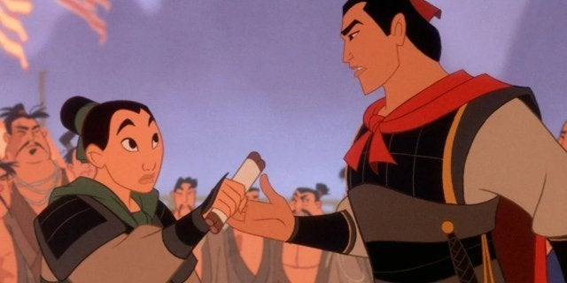 mulan disney li shang adaptation