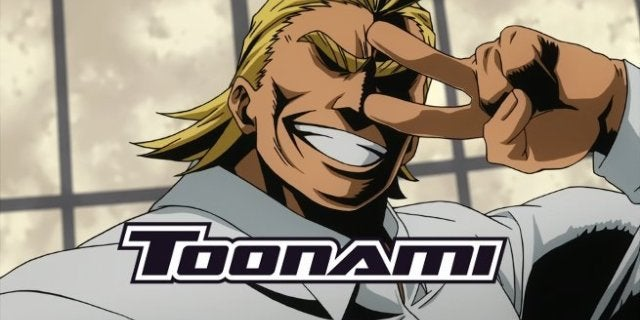 My Hero Academia on Toonami