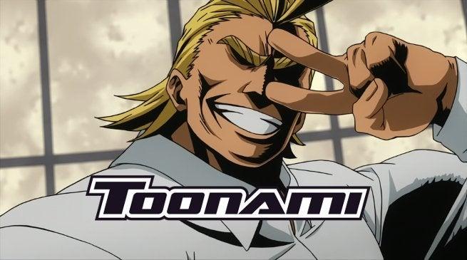 My Hero Academia on Toonami