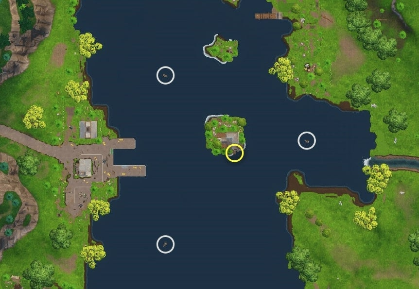 Fortnite: How to Solve 'Search Between Three Boats ...