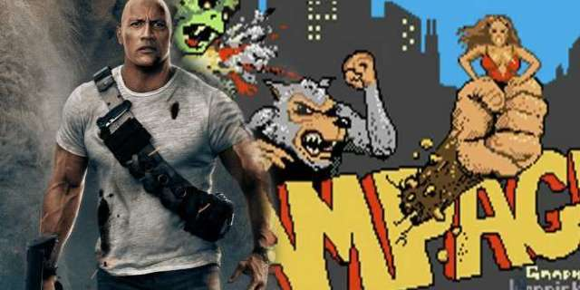 rampage rock video game easter egg
