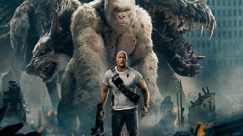 """Rampage - Summer Movie Award 2018 """"title ="""" Rampage - Summer Movie Award 2018 """"height ="""" 506 """"width ="""" 900 """"data -item ="""" 1099854 """"/> </figure> <p><strong>  Second Week <br /></strong><strong>  Friday: </strong> $ 4.8 million <br /><strong>  Weekend: </strong> $ 20.7 million <br /><strong>  Total: </strong> $ 66 million </p> <p>  Global Icon Dwayne Johnson Starring the action – Brad Peyton Rampage Adventure Johnson plays the primatologist Davis Okoye, who keeps people at bay, but an unshakeable connection with George, the exceptionally intelligent, incredibly rare albino silverback gorilla, has been nurturing him as the young orphan </p> <p>  But a crooked genetic experiment mutates this gentle monkey into a raging creature of enormous size. """"To make things worse, it was soon discovered that there are other similarly modified animals out there created alpha predators Over North America, d Okoye, who destroys everything on her path, works with discredited geneticist Kate Caldwell (Naomie Harris) to find an antidote to stop not only a global catastrophe, but the fearsome creature that once existed his friend was to save </p> <p><svg role="""