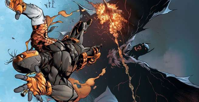 Reasons to Read DC Comics - Deathstroke Vs Batman