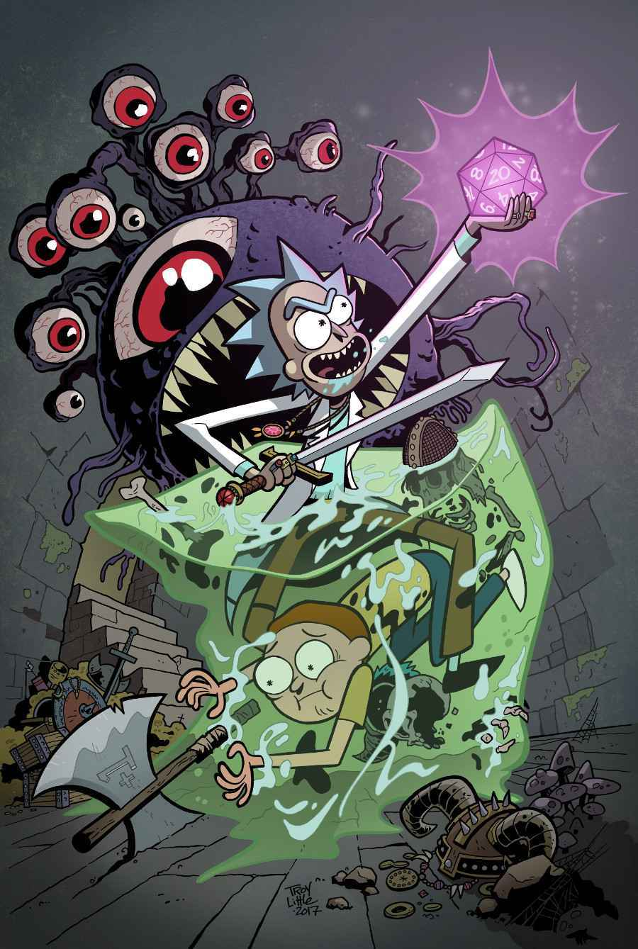 Rick and Morty Dungeons and Dragons Crossover