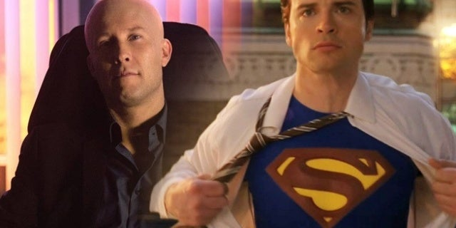 """Smallville's Tom Welling and Michael Rosenbaum: """"No One Has Even Talked to Us"""" About Crisis on Infinite Earths"""