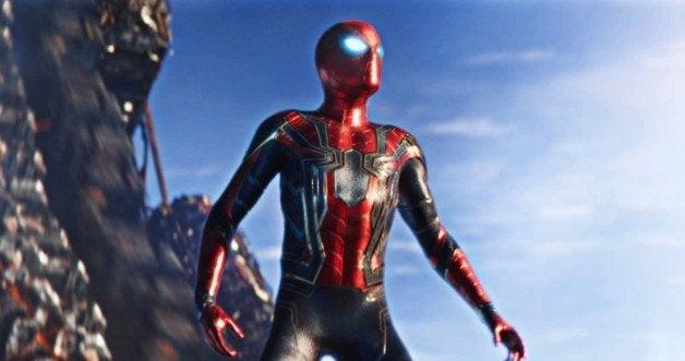 spider-man avengers infinity war tom holland