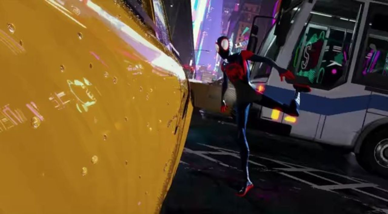 Spider Man Into The Spider Verse Bts Video Showcases The Film S