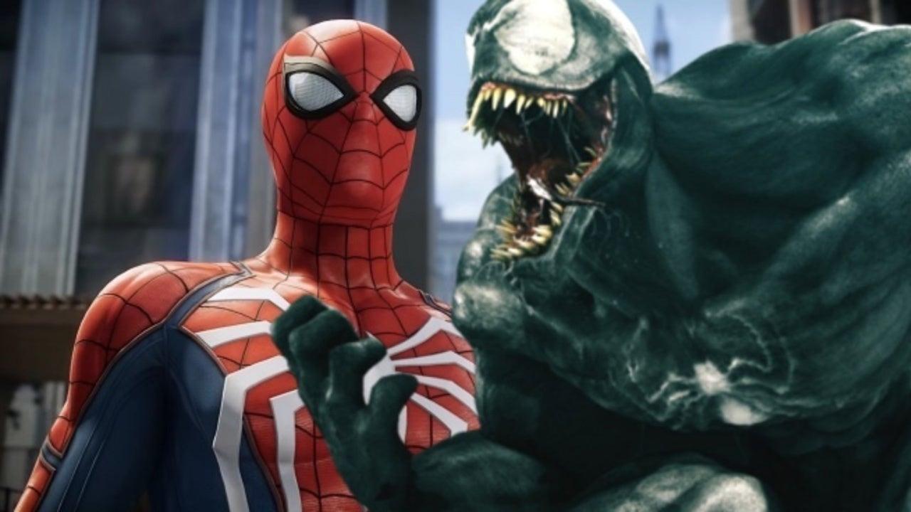 venom teased for spider-man ps4