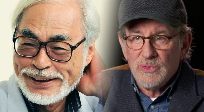 spielberg miyazaki