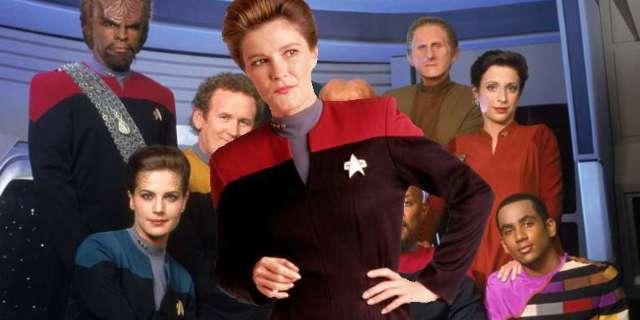 Star Trek Deep Space Nine Janeway