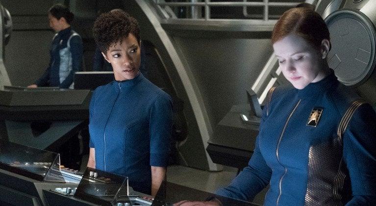 Star Trek Discovery Same Sex Romance