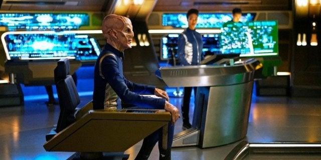 Star Trek Discovery Saru Captain