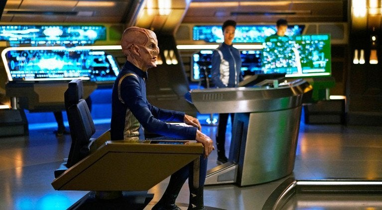 Star Trek Discovery Saru Captain