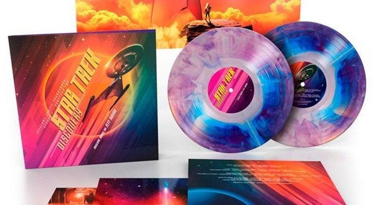 Star Trek Discovery Vinyl set