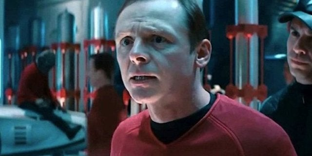 Star Trek Simon Pegg