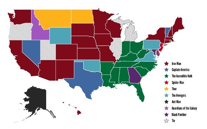 States-Favorite-Marvel-Movie-CableTV.com