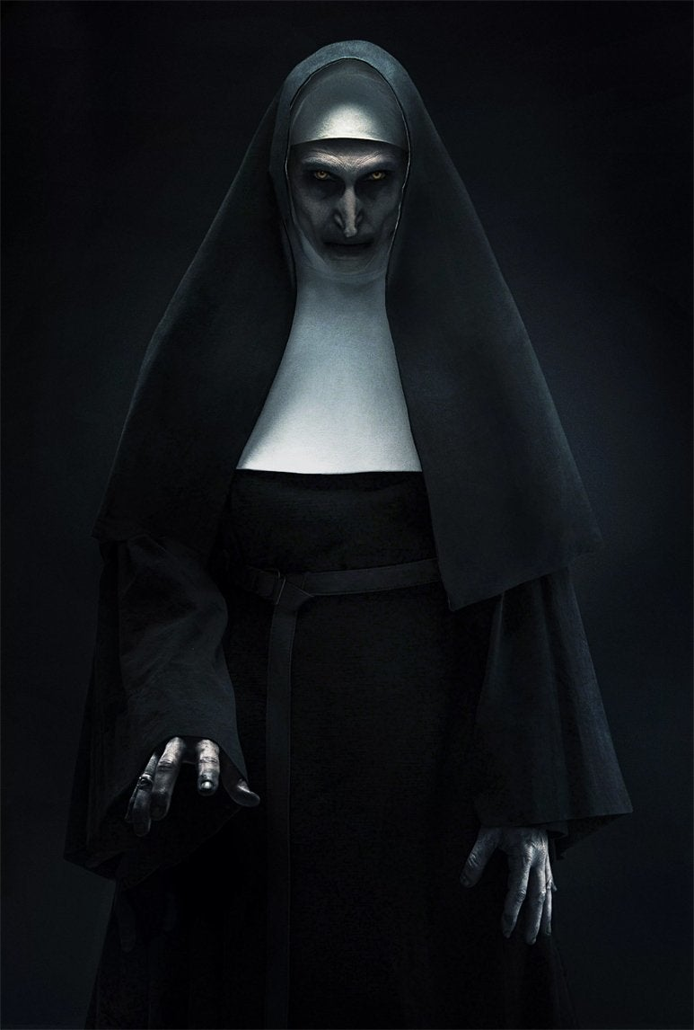 the nun demon the conjuring 2 movie