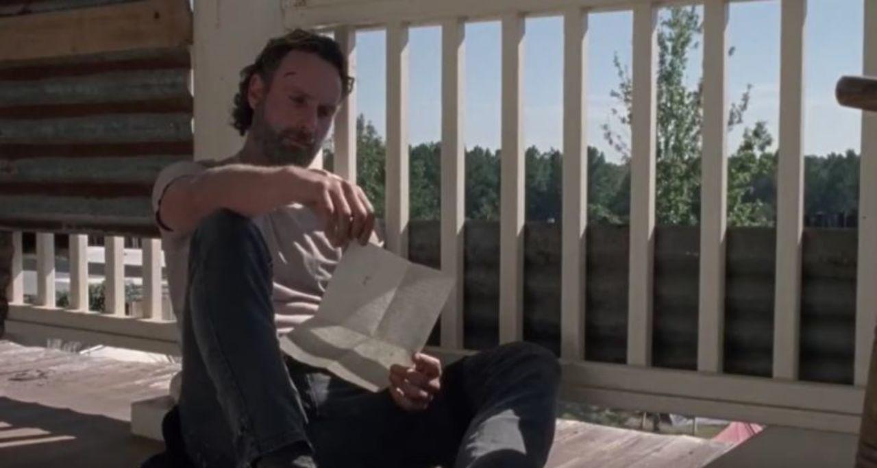 The Walking Dead': Carl's Full Letter to Rick Revealed