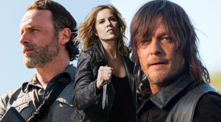 The Walking Dead Fear The Walking Dead Rick Daryl Madison ComicBookcom