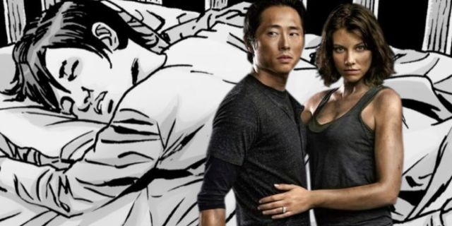 The Walking Dead Maggie Glenn baby ComicBookcom