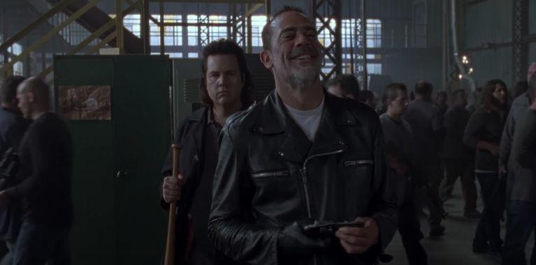 The Walking Dead Negan Eugene