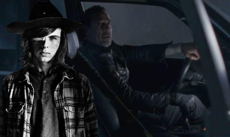 The Walking Dead Negan pick up car