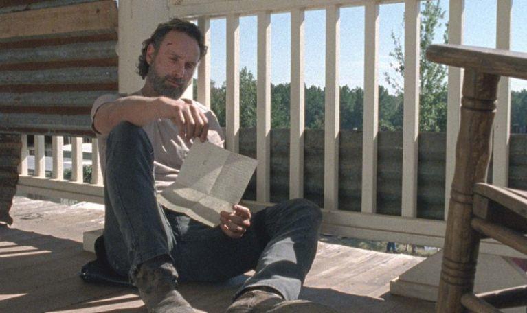 The Walking Dead Rick Carl letter