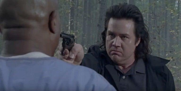 The Walking Dead season finale Eugene Gabriel