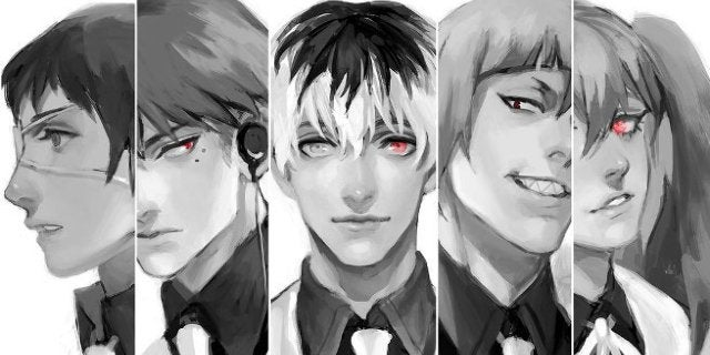 Tokyo Ghoul re Season 3 Quinx Squad by AfternoonTM DeviantART