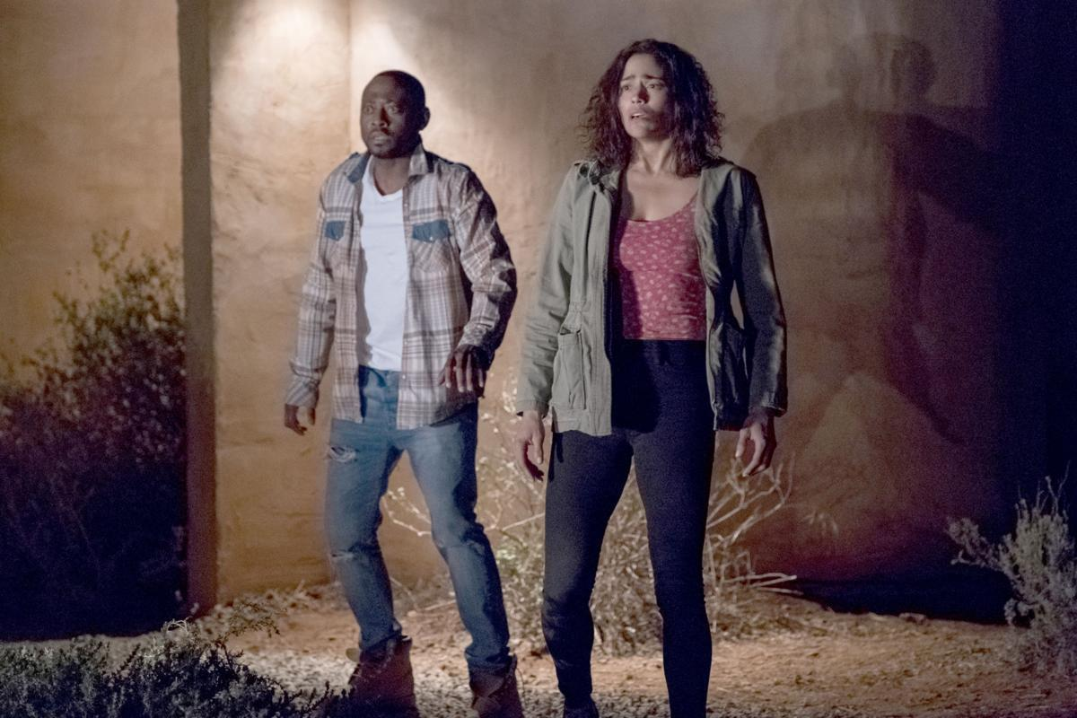 """Traffic """"title ="""" Traffik """"height ="""" 600 """"width ="""" 900 """"Data element ="""" 1103838 """"/> </figure> <p><strong>  Opening Weekend <br /></strong><strong>  Friday: </strong> $ 1.43 Million <br /><strong>  Weekend: </strong> $ 3.8 Million </p> <p>  Brea and John embark on a romantic weekend getaway to a remote mountain property. They are also pleasantly surprised when two of their friends, Darren and Malia, also show up unexpectedly, their plans for fun soon frightening as members of a violent biker gang invade the peaceful countryside, and are bound together in a fight for their lives while your Attackers stop at nothing to protect their secrets from the outside world. </p> <p><em>  <g class="""