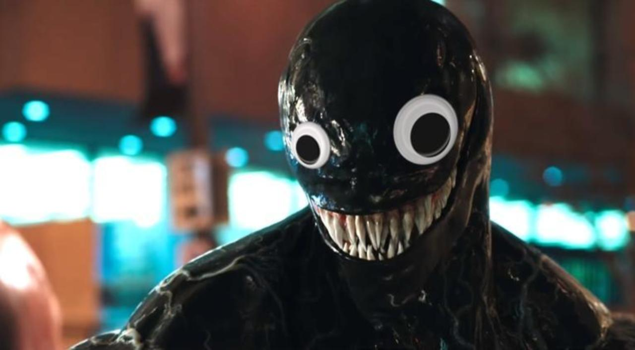 We Cannot Unsee The Venom Trailer With Googly Eyes